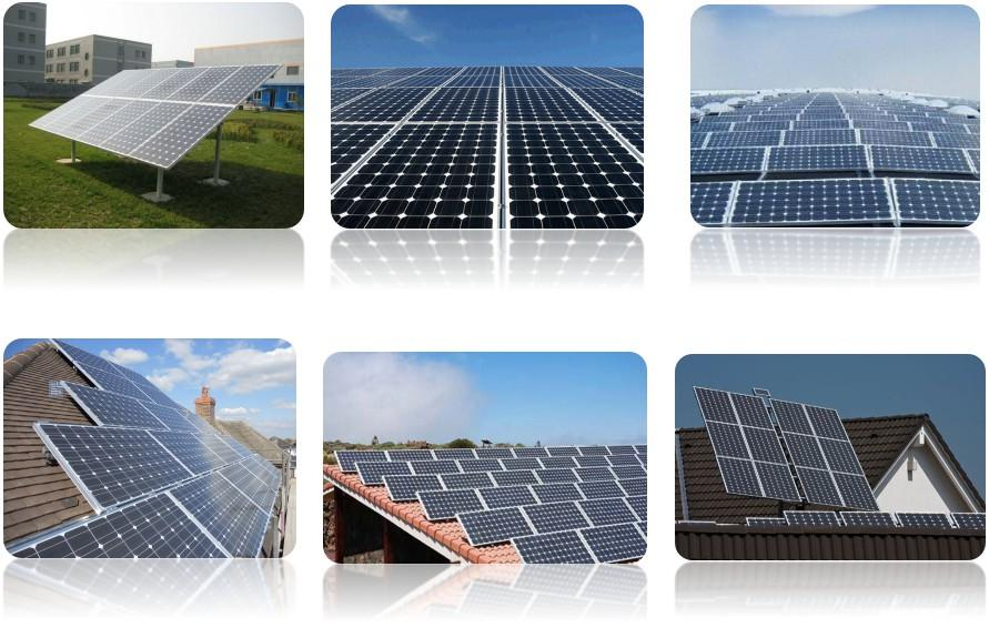 Monocrystalline Solar Panel Application